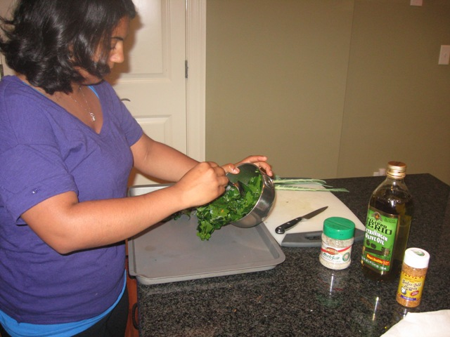 Cooking w/Broccoli Leaves2