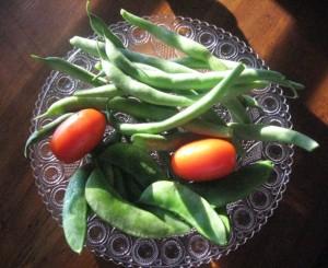 Lima & Green beans