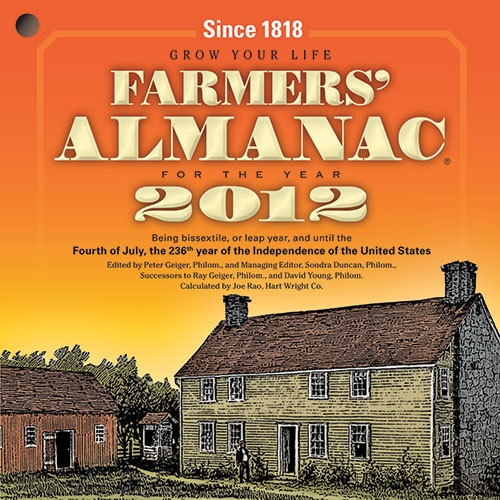 Farmers' Almanac - March 2012